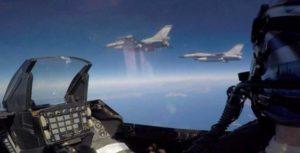 Σκληρή μάχη στους αιθέρες μεταξύ Τουρκικών Οπλισμένων Μαχητικών και Ελληνικών F-16 στο Βορειοανατολικό Αιγαίο