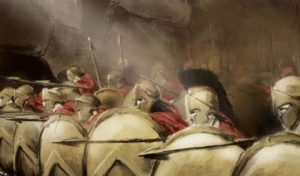 Ποια ήταν η κύρια τροφή των Σπαρτιατών πολεμιστών;