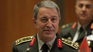 Τούρκος υπουργός Άμυνας: «Μας ανήκει η θάλασσα και ο βυθός του Αιγαίου και της Κύπρου»