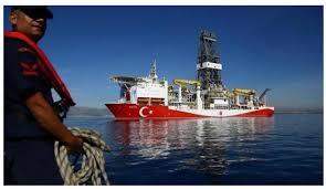 Με διεθνές ένταλμα σύλληψης απειλεί η Κύπρος τα μέλη του πληρώματος του τουρκικού γεωτρύπανου ΦΑΤΙΧ