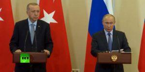 Νέα εκεχερεία 150 ωρών στην Συρία: Οι δηλώσεις Πούτιν-Ερντογάν