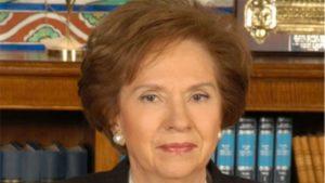 Η Άννα Μπενάκη - Ψαρούδα πρόεδρος της Ακαδημίας Αθηνών το 2020