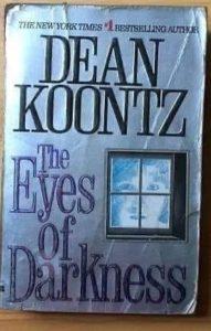 ΤΟ ΒΙΒΛΙΟ ΤΟΥ DEAN KOONTZ The Eyes of Darkness ΔΕΝ ΕΓΡΑΦΕ ΣΤΗΝ ΑΡΧΗ Wuhan-400