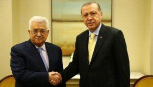 Ο Παλαιστίνιος πρόεδρος Αμπάς συνεχάρη τον Ερντογάν για τη μετατροπή της Αγίας Σοφίας σε τζαμί